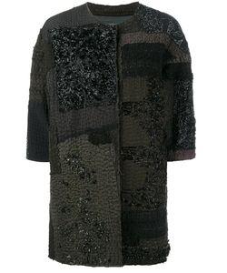 By Walid | Delya Coat Womens Size Medium Silk/Cotton