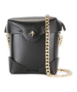 Manu Atelier | Detachable Chain Strap Clutch Womens Calf Leather