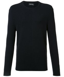 Exemplaire | English Ribbed Crew Neck Jumper Mens Size Large Cashmere