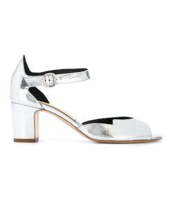 Rupert Sanderson   Low Heel Sandals Womens Size 37.5 Leather