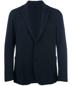 Lardini | Patch Pockets Blazer Mens Size 54 Cotton