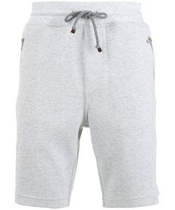 Brunello Cucinelli   Drawstring Track Shorts Mens Size Medium Cotton/Polyamide