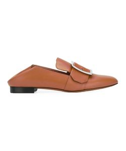 Bally | Buckled Loafers Womens Size 38.5 Leather