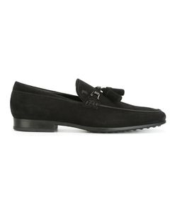 Tod's | Tassel Loafers Mens Size 7.5 Calf Suede/Leather/Rubber