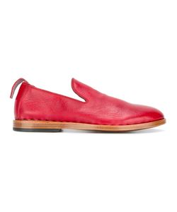 Measponte   Slip-On Loafers Womens Size 38 Calf Leather/Leather/Rubber