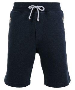 Brunello Cucinelli   Drawstring Track Shorts Mens Size Small Cotton/Polyamide