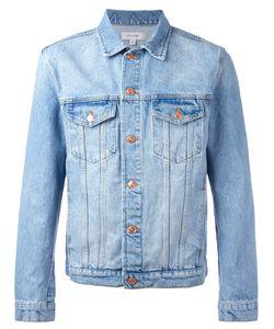 Soulland   Stonewashed Denim Jacket Mens Size Small Cotton