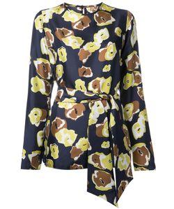 Martin Grant | Print Blouse Womens Size 38 Silk