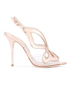 Sophia Webster | Madame Butterfly Sandals Womens Size 36 Calf Leather/Leather/Pvc