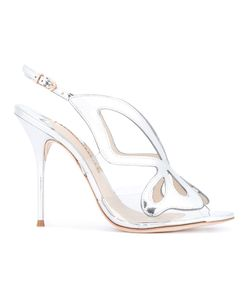 Sophia Webster | Madame Butterfly Sandals Womens Size 40 Calf Leather/Leather/Pvc