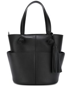 Tod's | Tassel Detail Tote Womens Calf Leather