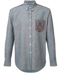 Julien David | Lightweight Striped Shirt Size Large Cotton