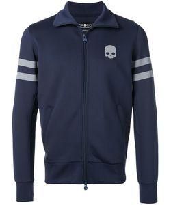 Hydrogen | Reflex Skull Zipped Hoodie Mens Size Small Polyester/Spandex/Elastane