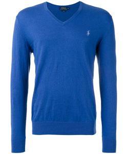 Polo Ralph Lauren   V-Neck Jumper Mens Size Large Cotton/Cashmere