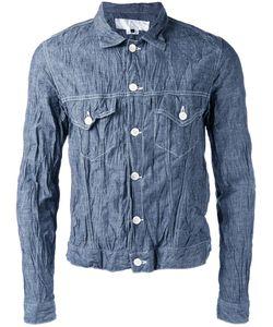 Ganryu Comme Des Garcons | Wrinkles Denim Jacket Mens Size Small