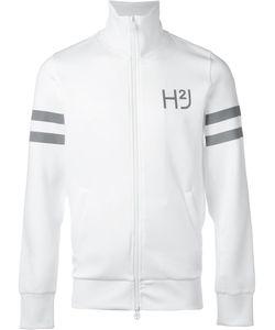 Hydrogen | Logo Print Zipped Jacket Mens Size Xl Polyester/Spandex/Elastane