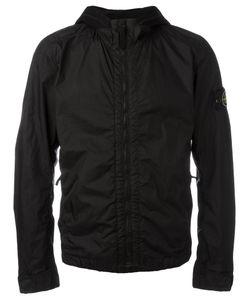 Stone Island   Hooded Anorak Jacket Mens Size Xl Polyamide/Polyurethane Resin