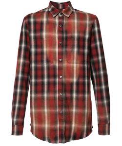 Amiri | Checked Shirt Mens Size Small Cotton/Rayon
