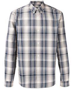 A.P.C. | Plaid Shirt Mens Size Large Cotton