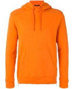 Balmain | Zip Detail Hoodie Mens Size Xl Cotton