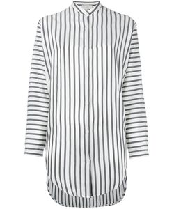 Studio Nicholson | Striped Tunic Shirt Womens Size 0 Silk