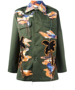 Night Market | Bird Patches Military Jacket Womens Cotton/Polyester