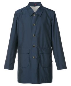 Isaia | Reversible Trench Coat Mens Size 50 Polyester