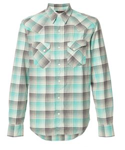 Rrl   Plaid Shirt Mens Size Medium Cotton