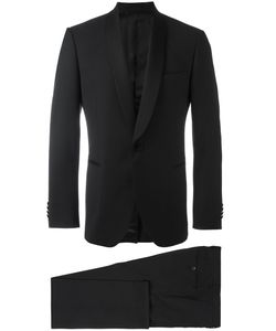 Lardini | Shawl Lapel Two-Piece Suit Mens Size 54 Wool/Viscose/Cupro