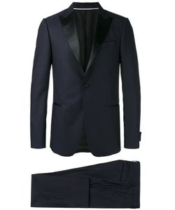 Z Zegna | Peaked Lapel Two-Piece Suit Mens Size 54 Wool/Cupro