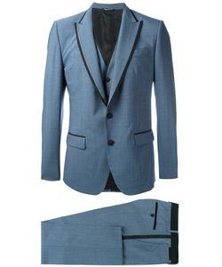 Dolce & Gabbana   Formal Suit Mens Size 50 Virgin Wool/Silk/Spandex/Elastane/Cupro