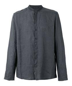 Transit | Mandarin Neck Shirt Mens Size Xl Linen/Flax