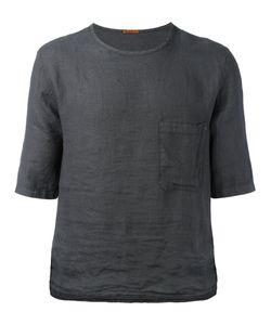 Barena   Chest Pocket Boxy T-Shirt Mens Size 50 Linen/Flax