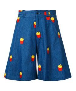 Mikio Sakabe | French Fries Shorts Adult Unisex Size Large Cotton