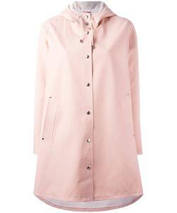 Stutterheim   Moseback Coat Womens Size Small Cotton/Pvc