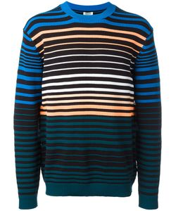 Kenzo | Stripe Knitted Sweater Mens Size Xs Polyamide/Cotton