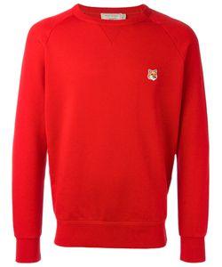 Maison Kitsuné   Embroide Fox Sweatshirt Mens Size Large Cotton