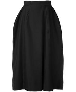 Vera Wang | Full Midi Skirt Womens Size 2 Nylon/Wool/Cotton