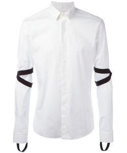 Les Hommes | Stirrup Detail Shirt Mens Size 50 Cotton/Spandex/Elastane