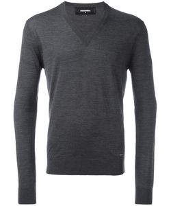 Dsquared2 | V-Neck Jumper Mens Size Medium Wool