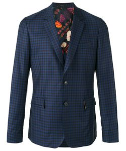 Paul Smith | Checked Blazer Mens Size 40 Wool/Cupro