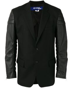 Junya Watanabe Comme Des Garçons | Man Leather Effect Sleeves Blazer Mens