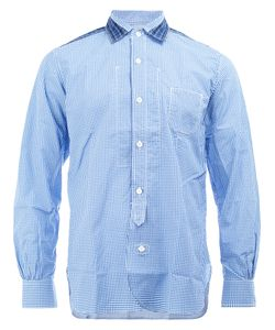 Junya Watanabe Comme Des Garçons | Man Shoulder Detail Checked Shirt Mens