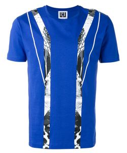 Les Hommes Urban   Graphic Print T-Shirt Mens Size Small Cotton