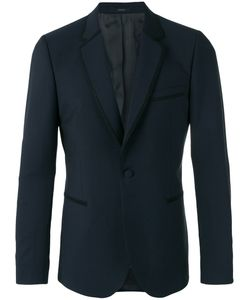 Paul Smith | Trim Detail Blazer Mens Size 42 Mohair/Wool/Viscose
