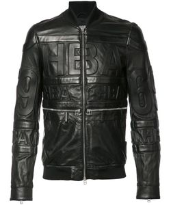 Hood By Air | Leather Bomber Jacket Mens Size Small Leather