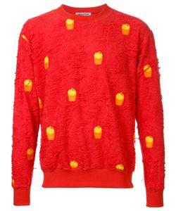 Mikio Sakabe | French Fries Sweatshirt Adult Unisex Size Large Cotton