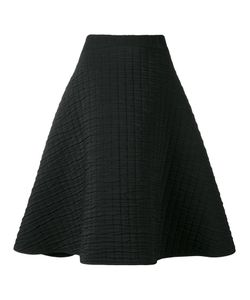 Chalayan | Textu A-Line Skirt Womens Size 46 Cotton/Polyester