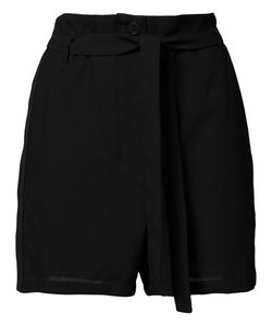 Ann Demeulemeester | Pleated Shorts Womens Size 36 Cotton/Rayon/Virgin Wool