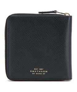 Smythson | All Around Zip Wallet Mens Leather